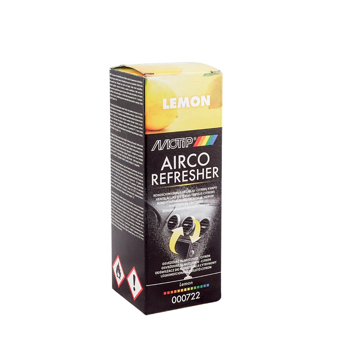 Очиститель системы кондиционирования Motip Airco лимон 150 мл (000722)