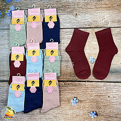 """Однотонные носки для подростков """"Фена"""" Размер: 36- 40 см (01329-2)"""