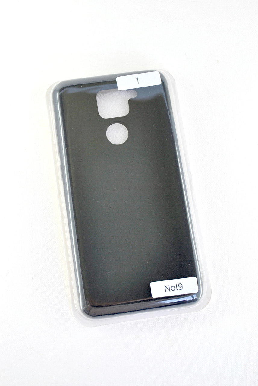 Чехол Huawei P40 Lite Silicon Original FULL №1 Black (4you)