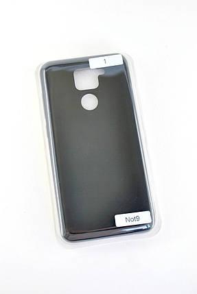 Чехол Huawei P40 Lite Silicon Original FULL №1 Black (4you), фото 2