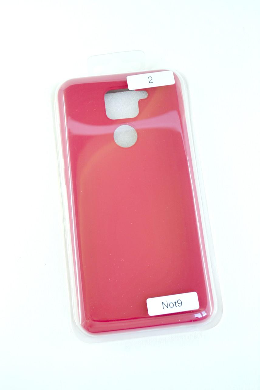Чехол Huawei P40 Lite Silicon Original FULL №2 Rose red (4you)