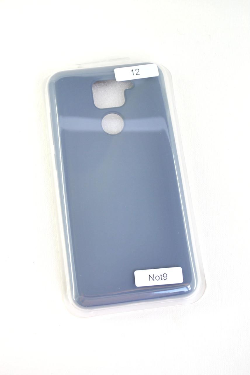 Чехол Samsung A21s/A217 Silicon Original FULL №12 Charcoal grey (4you)