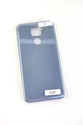 Чехол Samsung A21s/A217 Silicon Original FULL №12 Charcoal grey (4you), фото 2