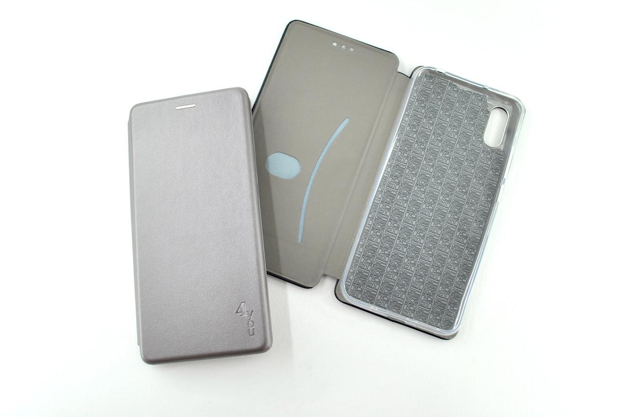 Чехол-книжка Flip Cover for Xiaomi Redmi Note 8T Original Grey (4you)