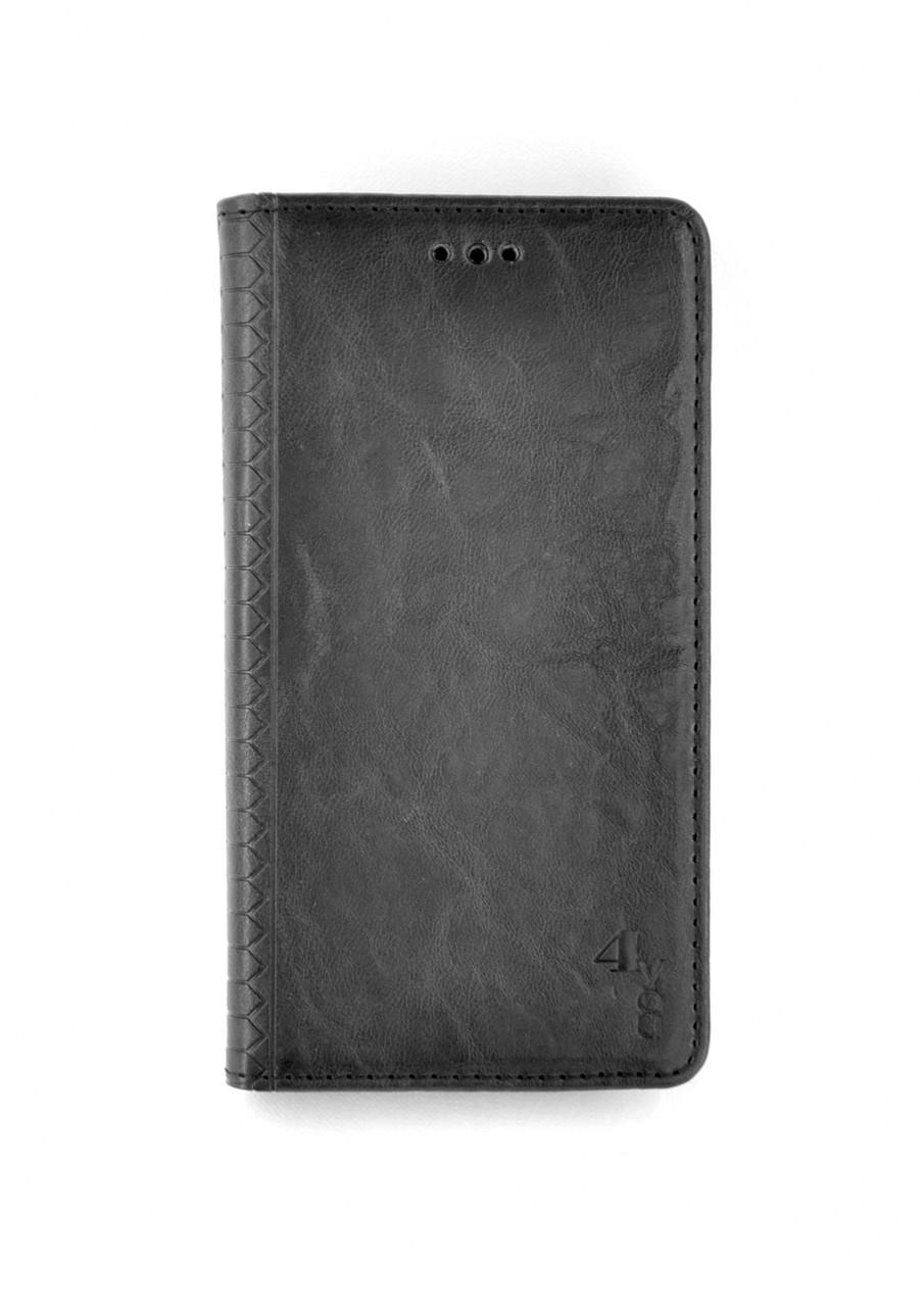 Чехол-книжка Flip Cover for Samsung A21s/A217 (2020) WALL Black (4you)