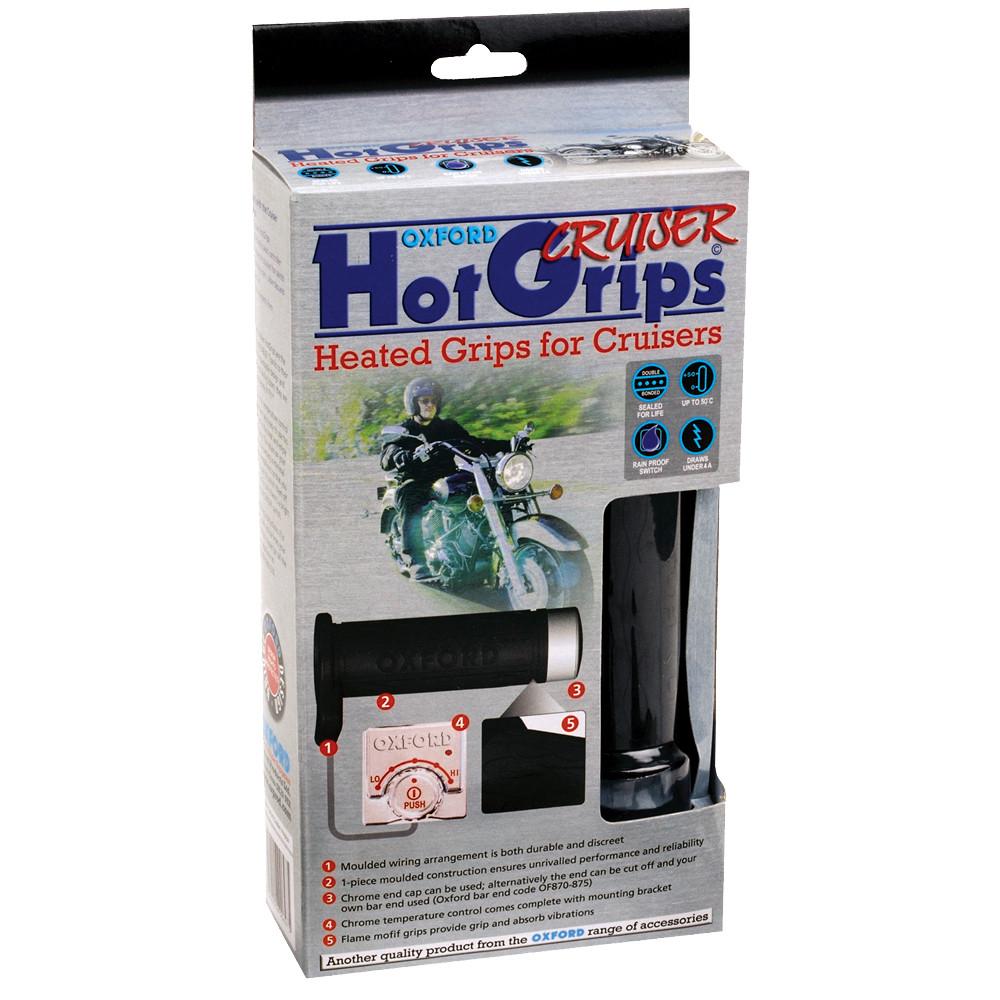 Ручки с подогревом Oxford HotGrips Essential Cruiser OF697