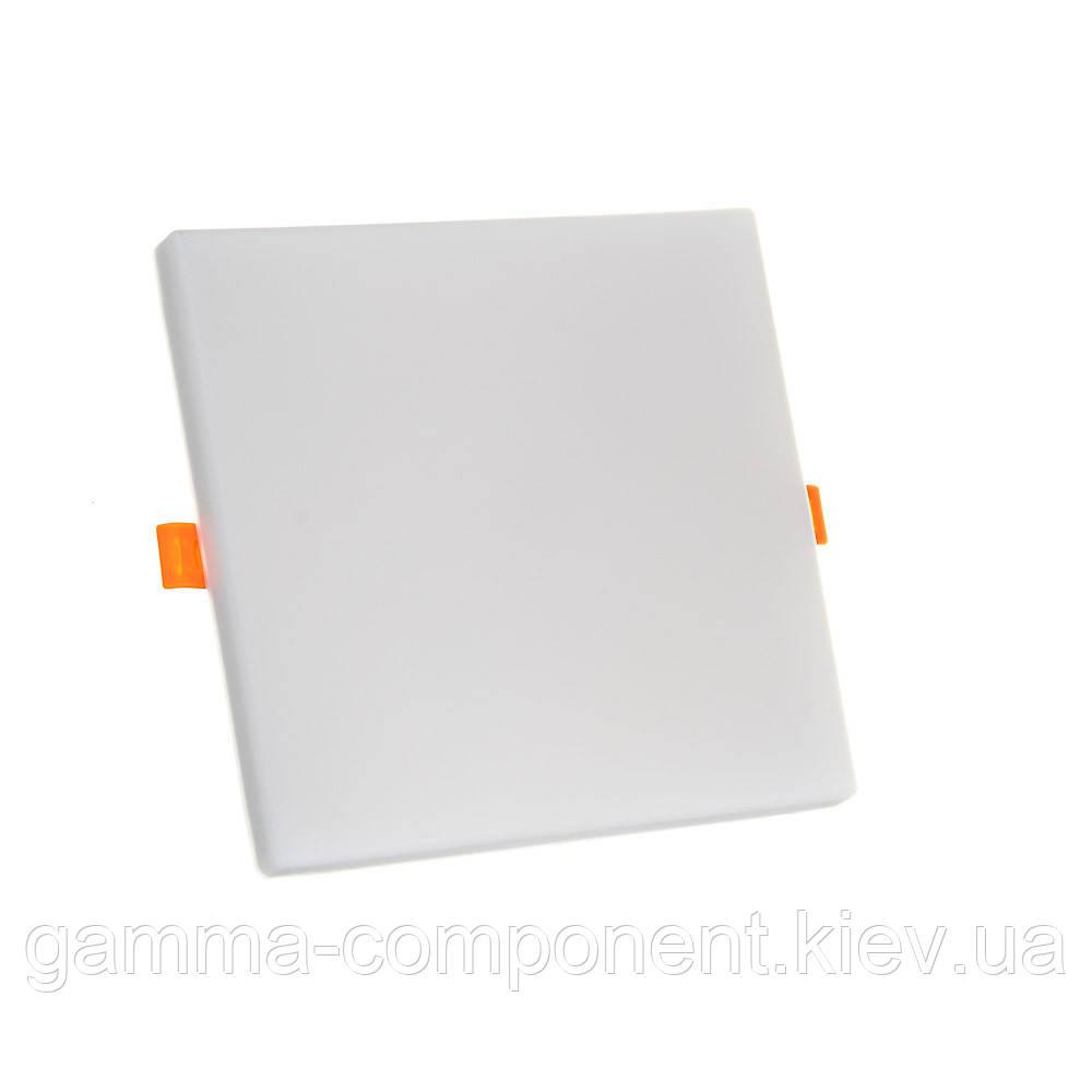 Светодиодный светильник точечный Ester 18 Вт квадратный 4000К IP20
