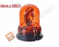 Маячок проблесковый оранжевый EMR-01 12 вольт (мигалка) стационарное крепление (пр-во EMIR Турция)(Цена с НДС)