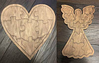 Пазлы деревянные