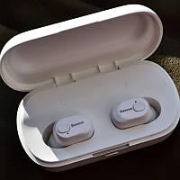 Безпровідні навушники Baseus Encok W01 White+Подарунок, фото 1