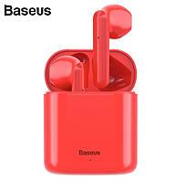 Bluetooth навушники Baseus W09 Red, фото 1
