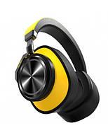 Bluetooth навушники Bluedio T6 Yellow