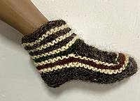 Гуцульські Шкарпетки з овечої шерсті короткі (носки овечья шерсть), фото 1