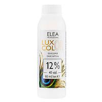 Окислительная эмульсия для волос Elea Professional Luxor Color Developer 12% (40 Vol.) 60 мл