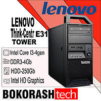 Lenovo Think Centr  E31  / Destkop 1155 / Intel core I3-4gen / DDR3-4gb / HDD-250GB (к.00100980), фото 1