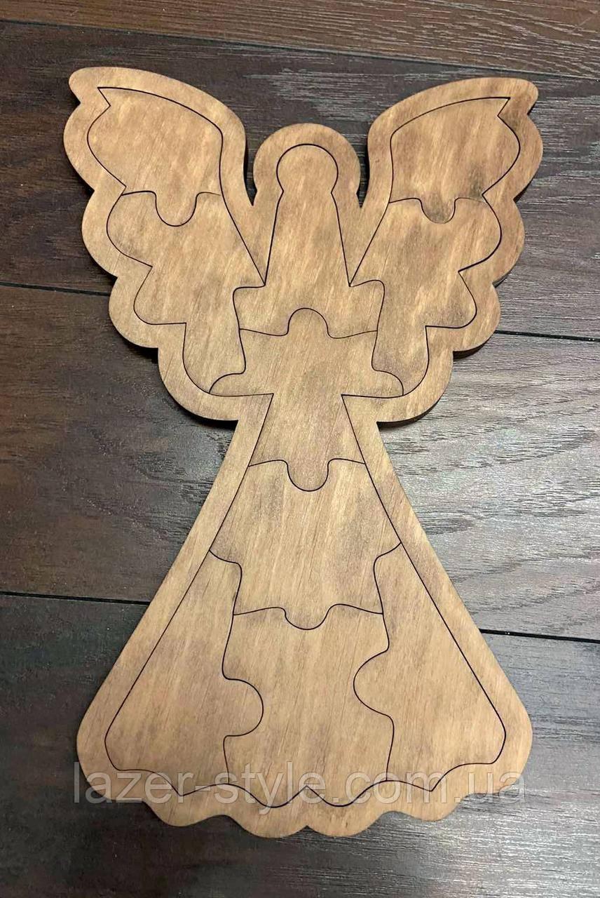 Дерев'яні пазли Ангел