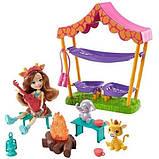Enchantimals Savannah Sleepover Playset with Griselda Giraffe Doll Кукла энчантималс жираф ночевка в саванне, фото 2