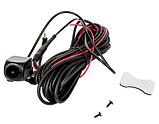 Камера заднего вида с кабелем для зеркала 10 дюймов (Junsun и др) Штекер 2,5мм, 4 контакта 4 pin, фото 3