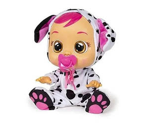 Интерактивная кукла пупс плачущий младенец Cry Babies Dotty