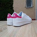 Кроссовки распродажа АКЦИЯ последние размеры Adidas Stan Smith 550 грн 38(24см), 39(25см), 40(25, , люкс копия, фото 3