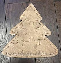 Пазлы деревянные  Елка