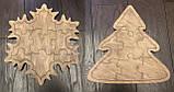 Пазлы деревянные  Елка, фото 2