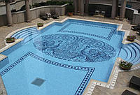 Мозаика для бассейна моноколор, фото 1