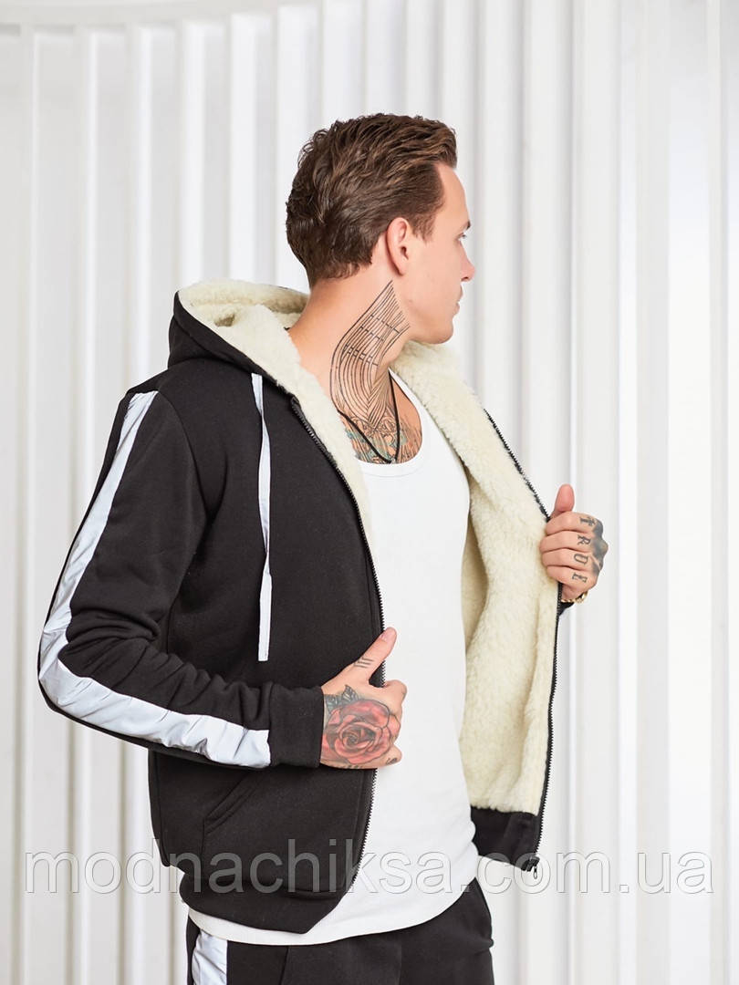 Мужской теплый спортивный костюм