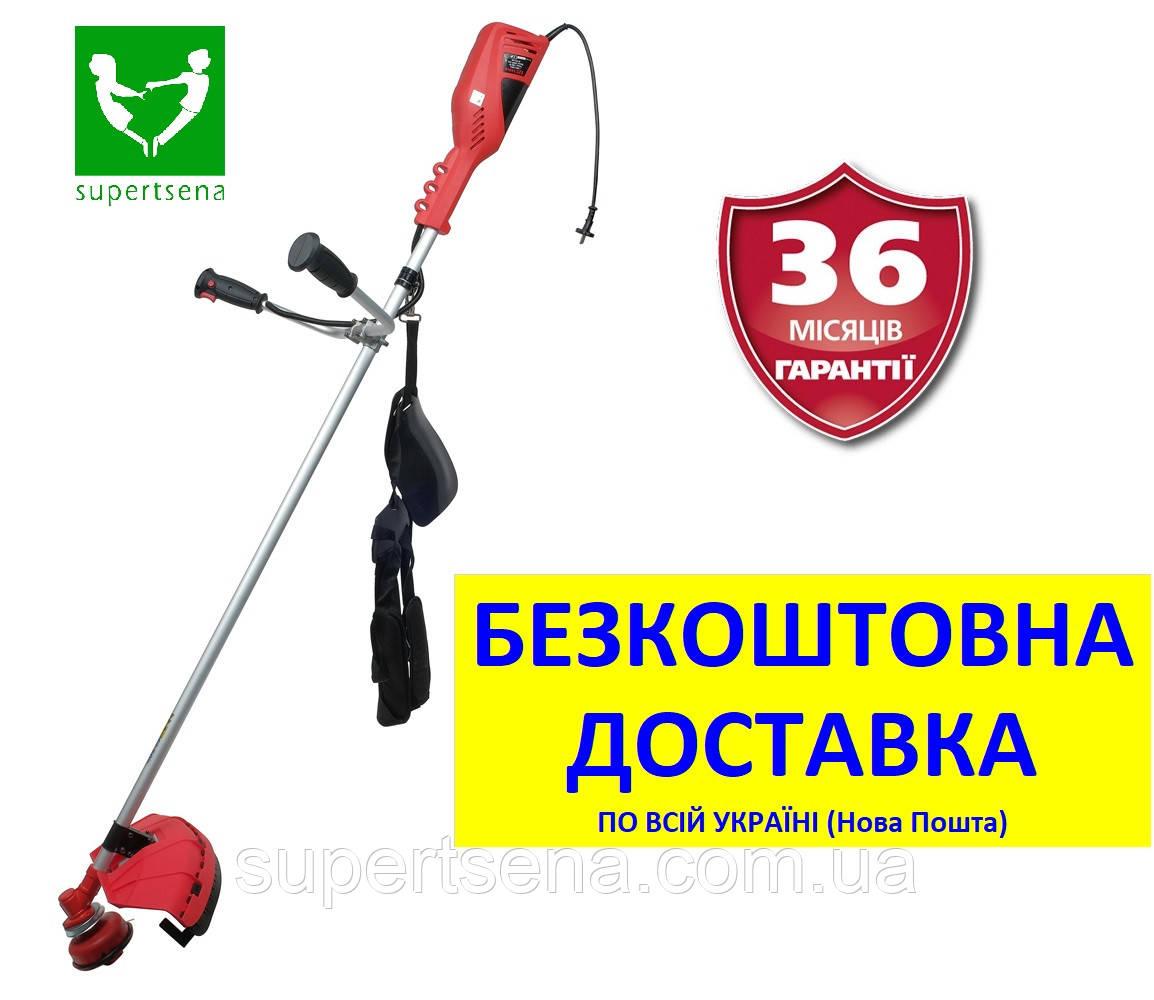 Электрокоса EZT 144vs (1,4 кВт) +БЕСПЛАТНАЯ ДОСТАВКА! с ножом 3-х зуб. (VITALS Master, Латвия)