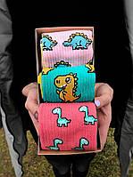 Набор стильных носков мужские женские, подарочный набор коробка, шкарпетки подарунковий набір, фото 1