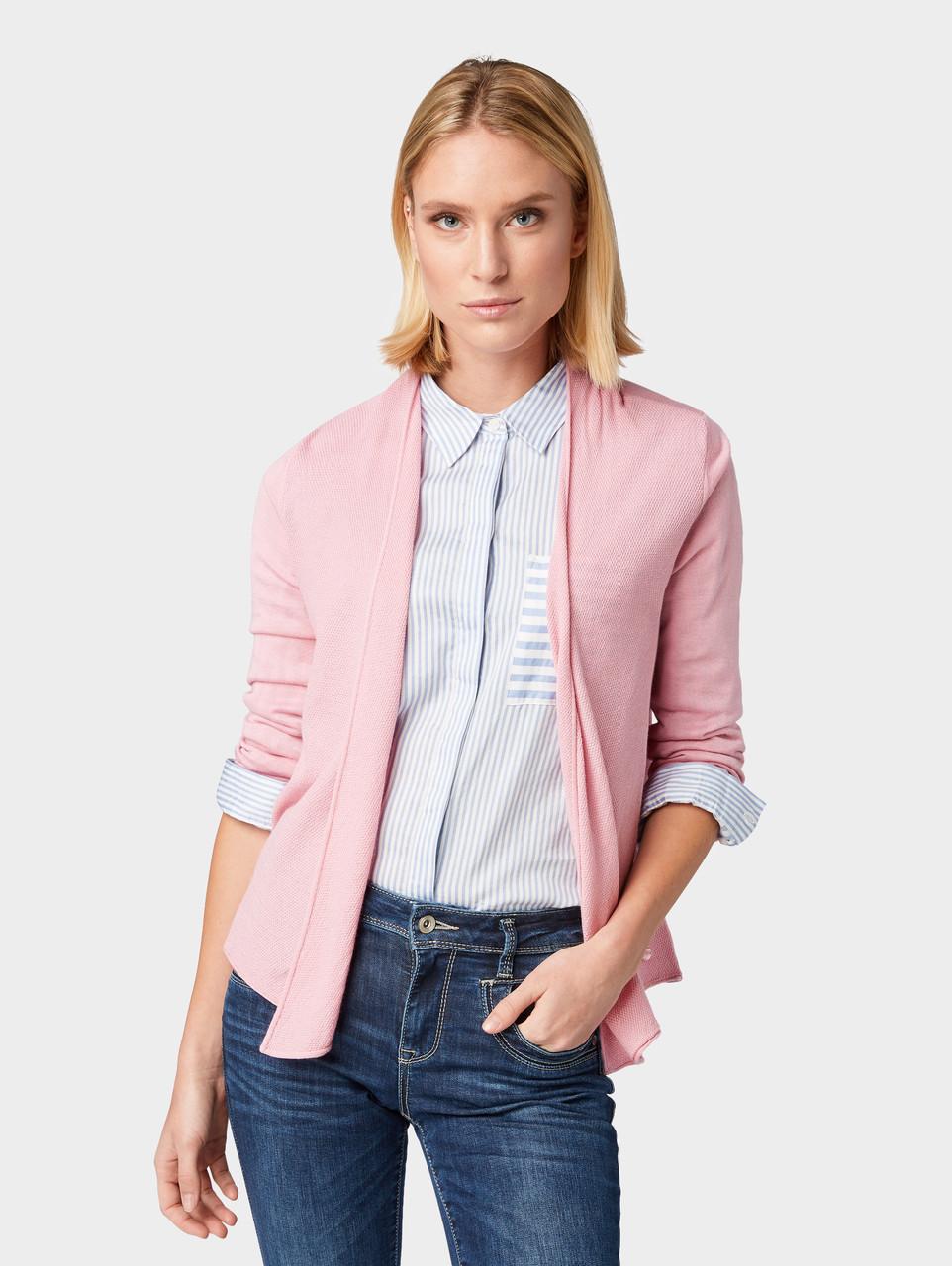 Кардиган Tom Tailor 1009675 L Розовый
