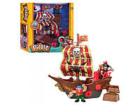 Корабль пиратов ( звук, свет, сундук, фигурки) Keenway 10754