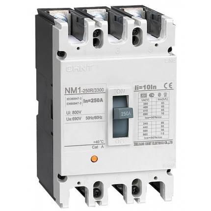 Автоматичний вимикач NM1-250S/3300 100A, Chint, фото 2