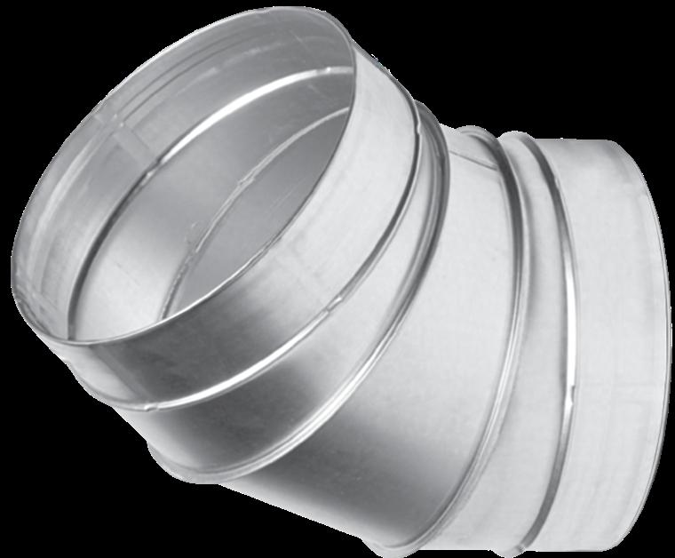 Отвод для вентиляционных каналов  45-500