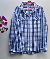 Чоловіча сорочка в клітку Розмір XXL ( Я-114), фото 3