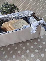 Текстильна хлібничка ручної роботи