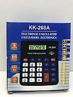 Калькулятор настольный kk-268A со звуковым сигналам