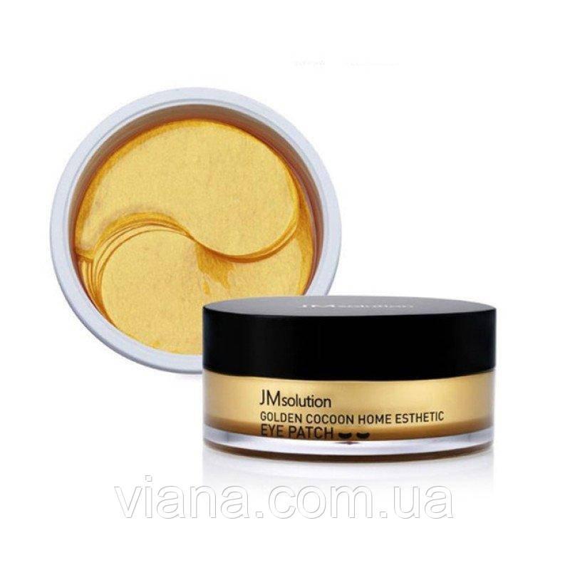 Патчи с протеинами золотого шелкопряда JMsolution Golden Cocoon Home
