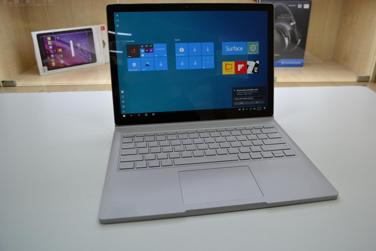 "Ноутбук (2 в 1) Microsoft Surface Book 13.5"" Multi-touch i5-6300U 2.4GHz GTX 965M 8GB RAM 128GB SSD Оригинал"