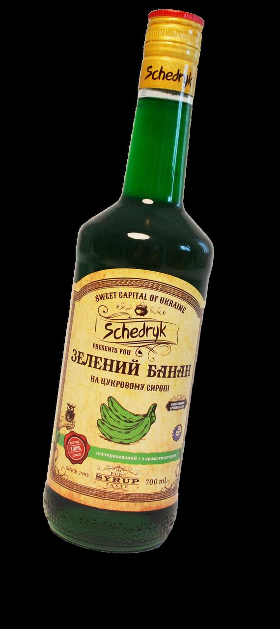 Сироп Зеленый Банан Щедрик 700 мл