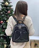 Женский кожаный рюкзак polina&eiterou, фото 4
