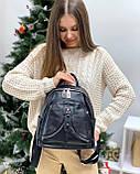 Женский кожаный рюкзак polina&eiterou, фото 5