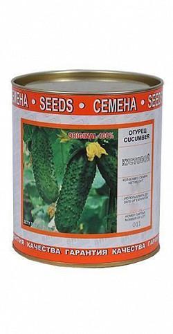Семена огурца сорт Кустовой 250 гр 7685587 Витас