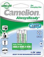 Аккумулятор Camelion Always Ready R 03-2bl AAA 600 мАч Ni-MH 2шт
