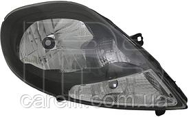 Фара левая электро черная для Renault Trafic 2007-14