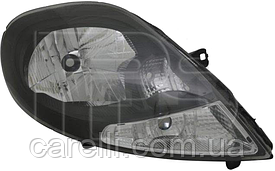 Фара правая электро черная для Renault Trafic 2007-14