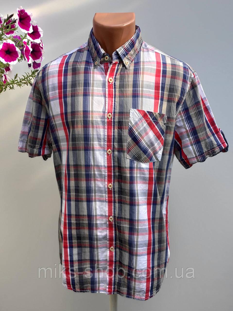 Чоловіча сорочка в клітку Розмір M ( Я-68)