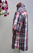Чоловіча сорочка в клітку Розмір M ( Я-68), фото 2
