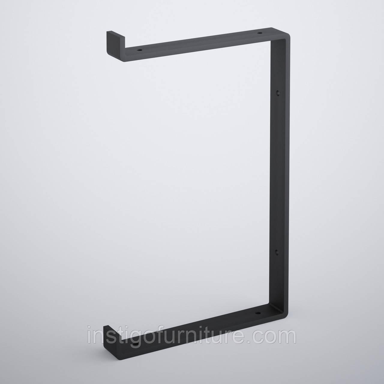 Кронштейн для полки из металла 212×30mm, H=340mm