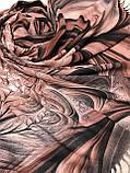 Женский палантин с красивым рисунком 180х70 см, фото 2